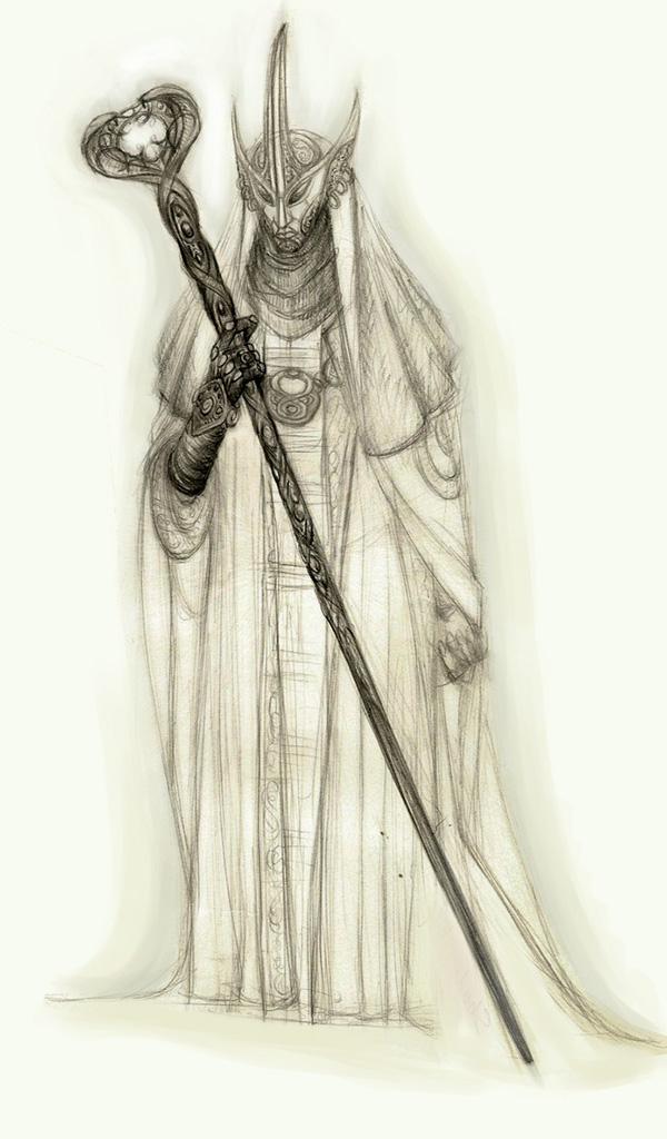 Dark-elf by LukaTrkanjec