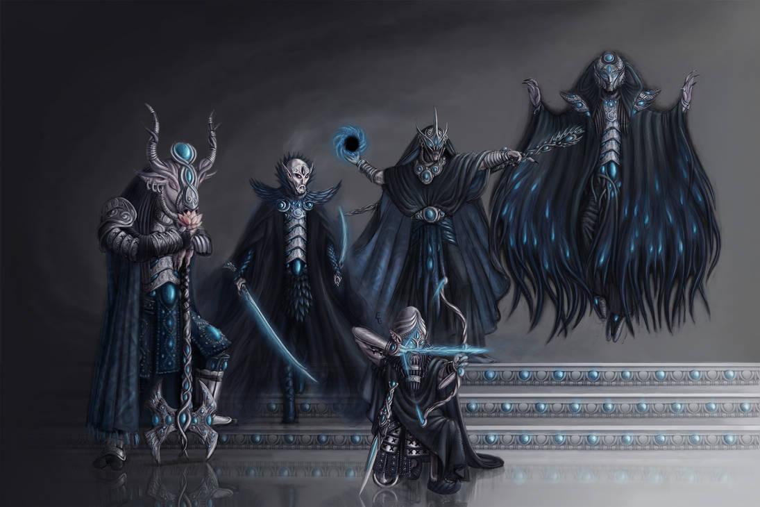 Darkelf-Deepones by LukaTrkanjec