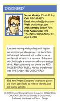 Deviant ID Card by ChuckDLay