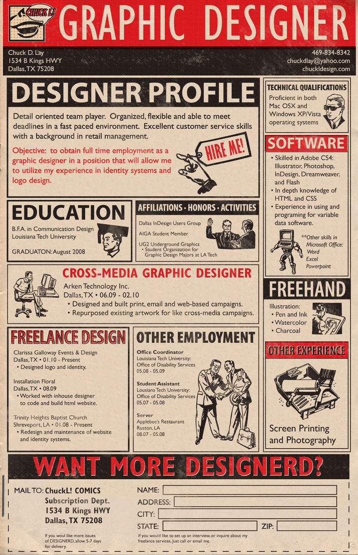 What Is A Good Font For A Graphic Design Resume