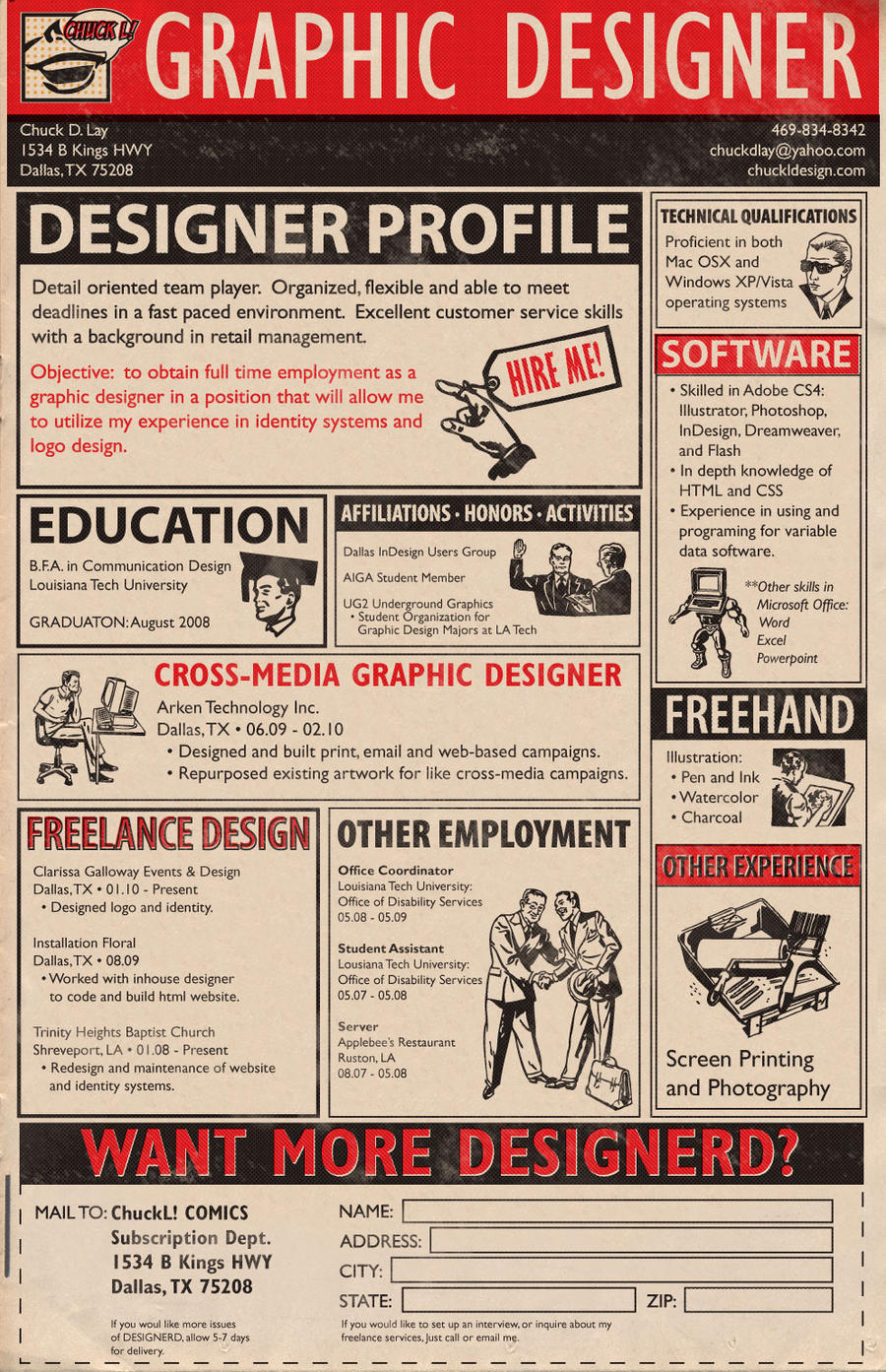 Updated Resume by ChuckDLay