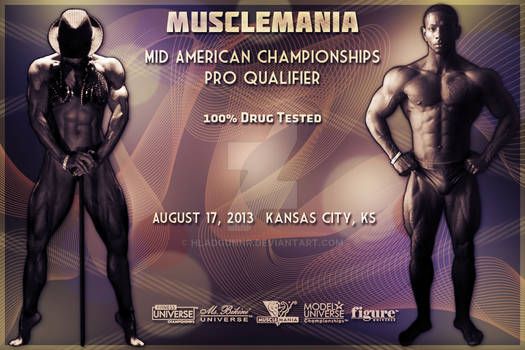 Proposed Poster - Musclemania Kansas City