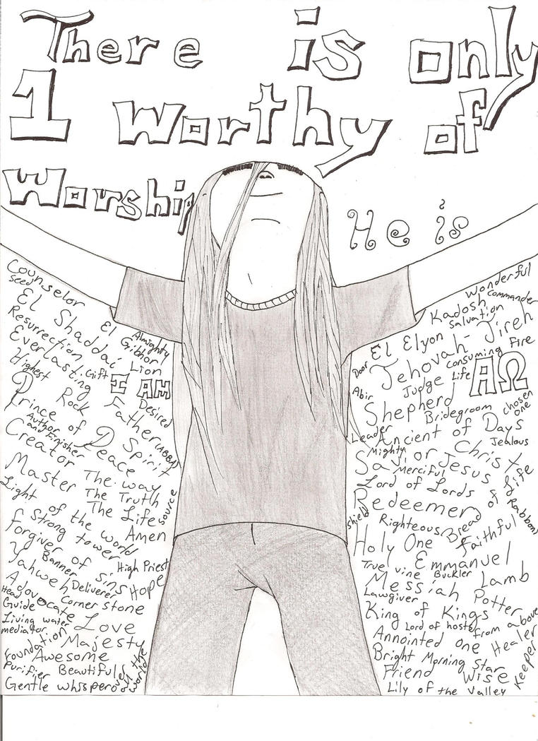 He who is worthy of praise by DessyS