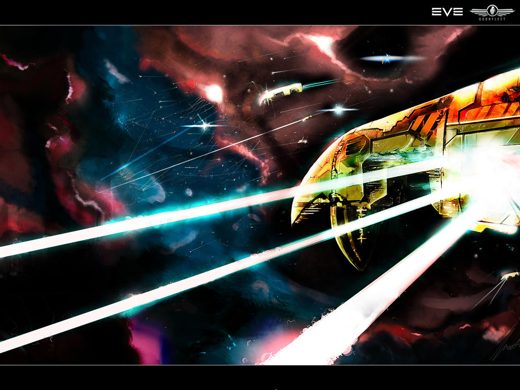 EVE ONLINE - Megabeam 16001200 by Haemoncul