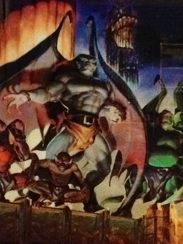 Gargoyles Posterboard by NecroDemonLord