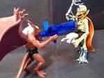 Gargoyles vs. SW: Brooklyn vs. Dr. Cyborn by NecroDemonLord