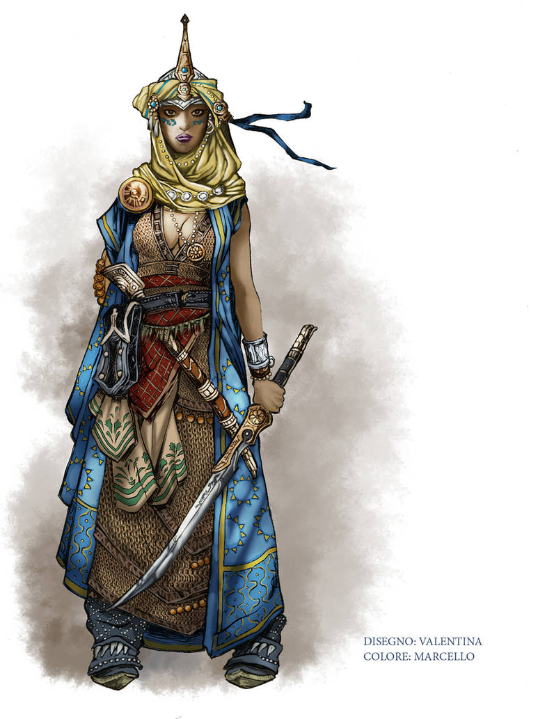 Cleric_Colored by Marcello Iozzoli by ValeLuche