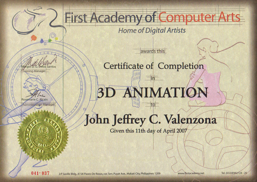 First Academy of Computer Arts Maya7 3D Animation  by Jepoi