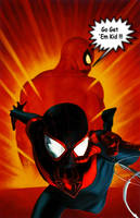 ULTIMATE SPIDERMAN by xenom0013