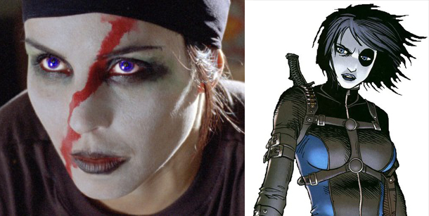 noomi rapace As Domino by xenom0013