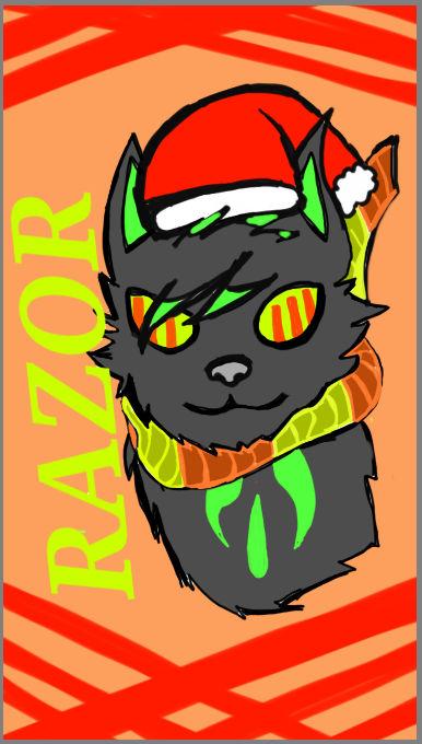 ~~Razor the Wolf Christmas Spirit~~