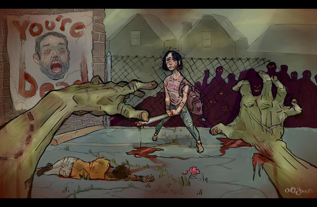 Zombie-julian22 by ooyawn