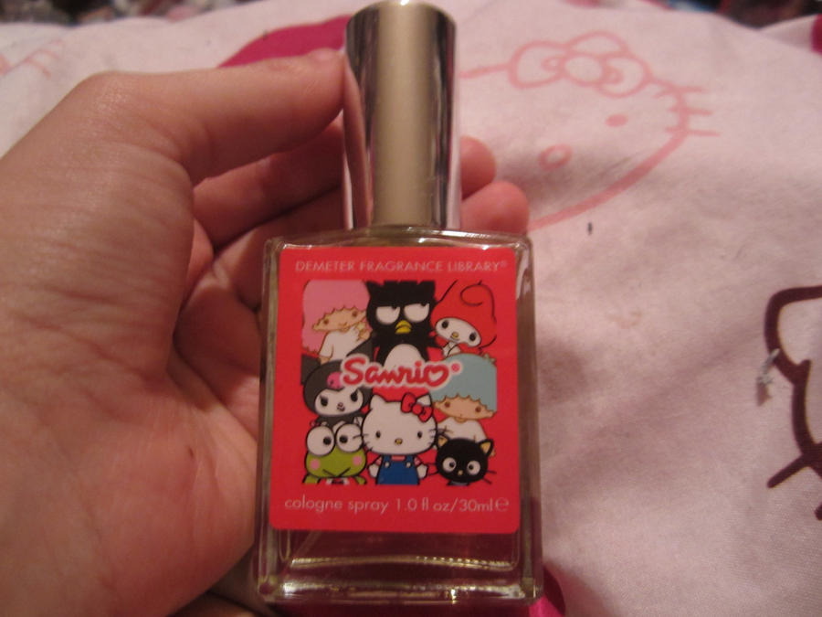 sanrio 50th anaversary perfume by chappy-rukia