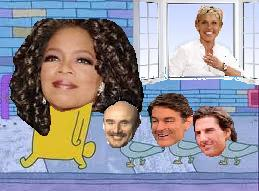 oprah and friends go for a walk by chappy-rukia