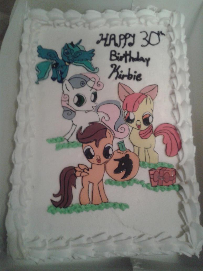 My 30th Bday Cake by chappy-rukia