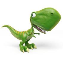 Little Dinosaur Toy by gerardovalerio