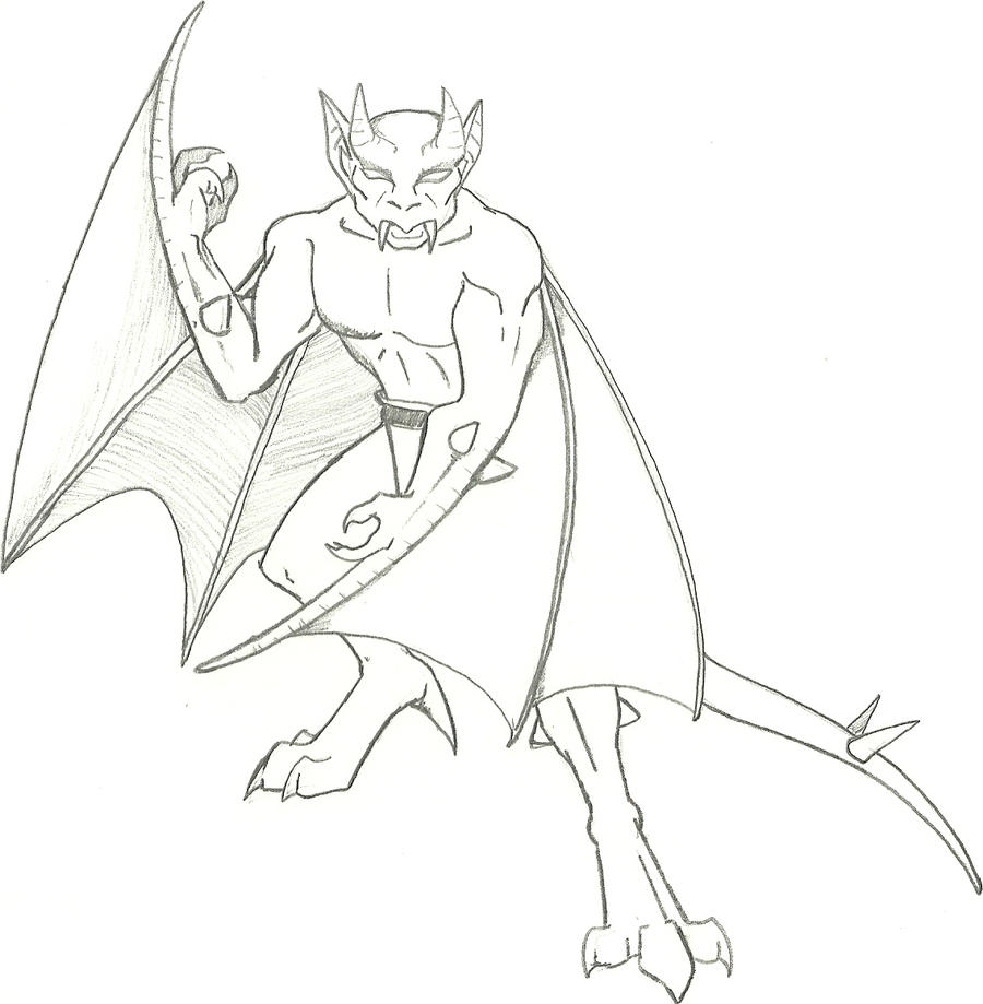 gargoyles characters coloring pages - photo#11