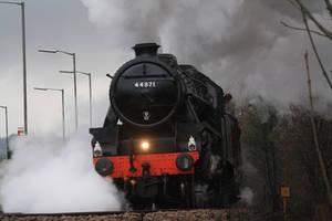 The LMS Stanier Class 5 by CJSutcliffe