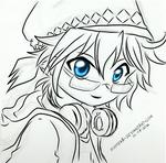 [VOCALOID] Kagamine Len sketch (lineart)
