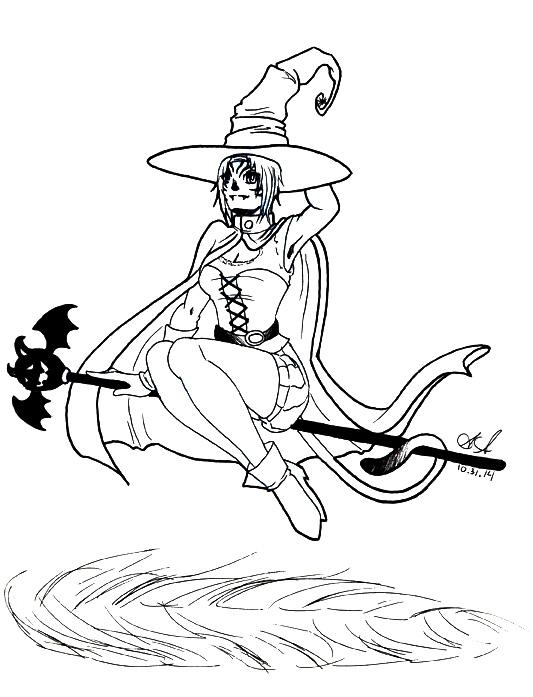 FFXI - Halloween Mithra by SailorAnime