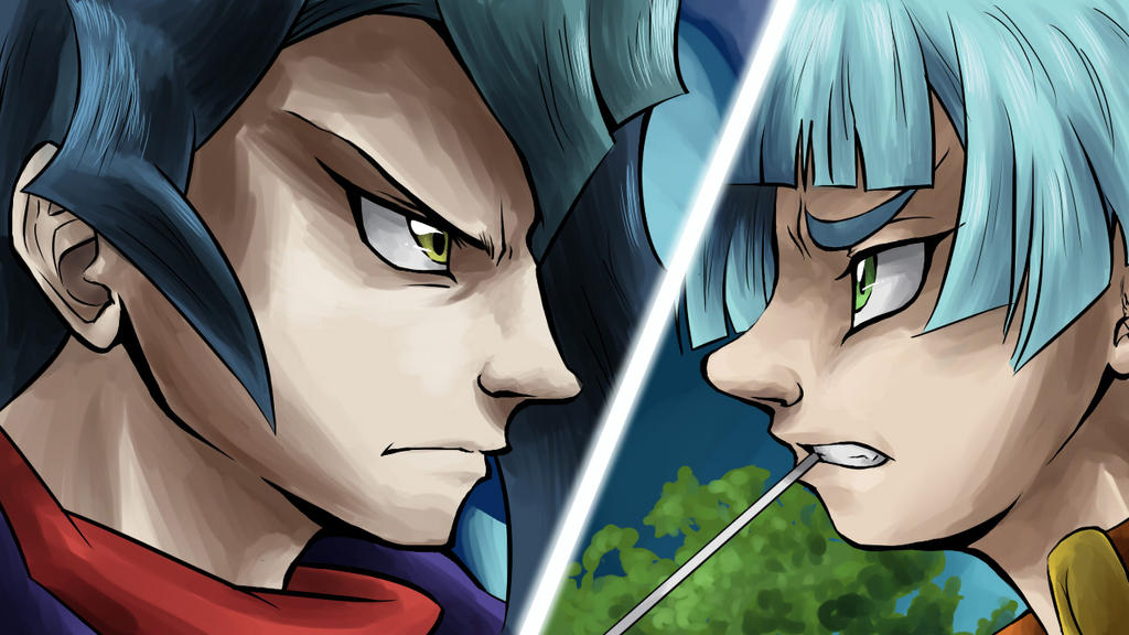 Yu-Gi-Oh Screencap Re-draw by SailorAnime