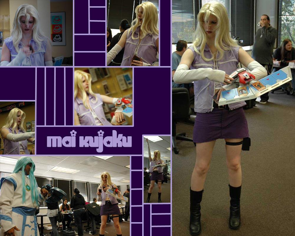 Cosplay de Yu-Gi-Oh! COSPLAY__Mai_Kujaku__by_SailorAnime