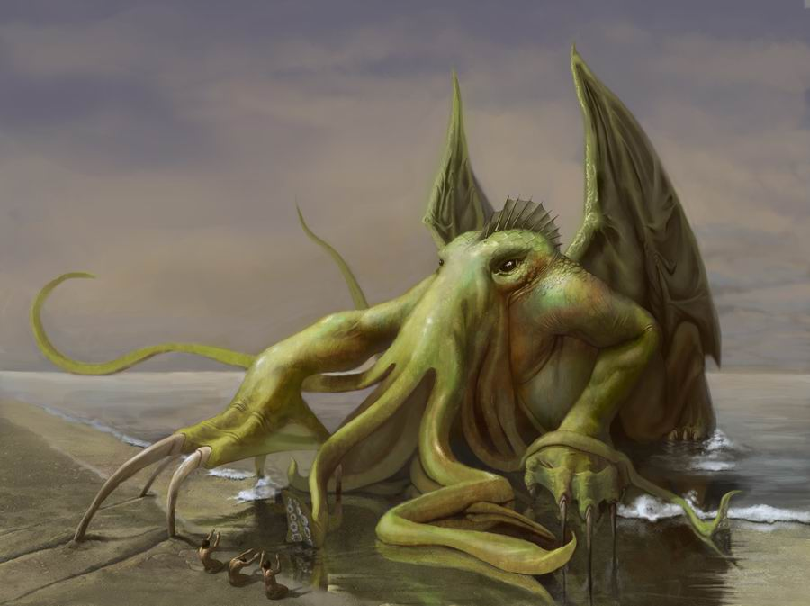 Cthulhu by EthicallyChallenged