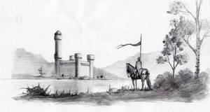Loch Castle sketch