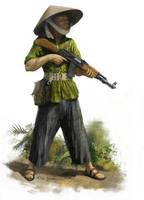 Vietnamese guerilla by EthicallyChallenged