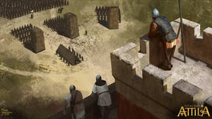 Besieged East Rome