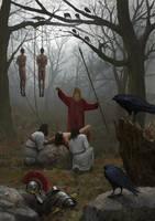 Wodan Sacrifice by EthicallyChallenged