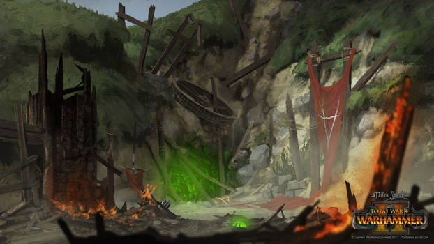 Skaven settlement lost