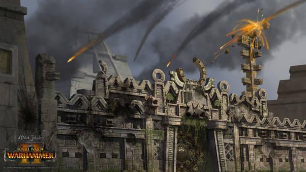 Lizardmen under siege