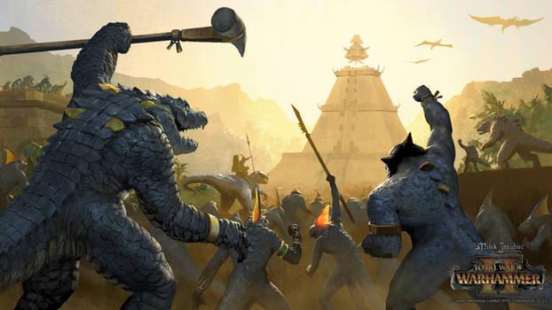 Lizardmen victory