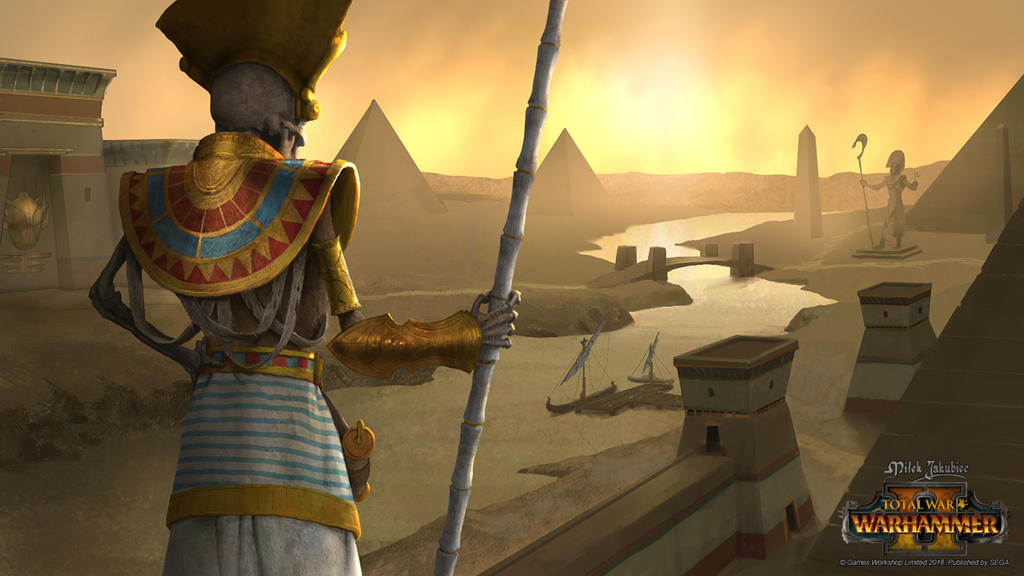 Tomb Kings Domain by EthicallyChallenged