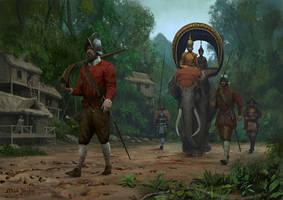 Spanish Tercios in Cambodia