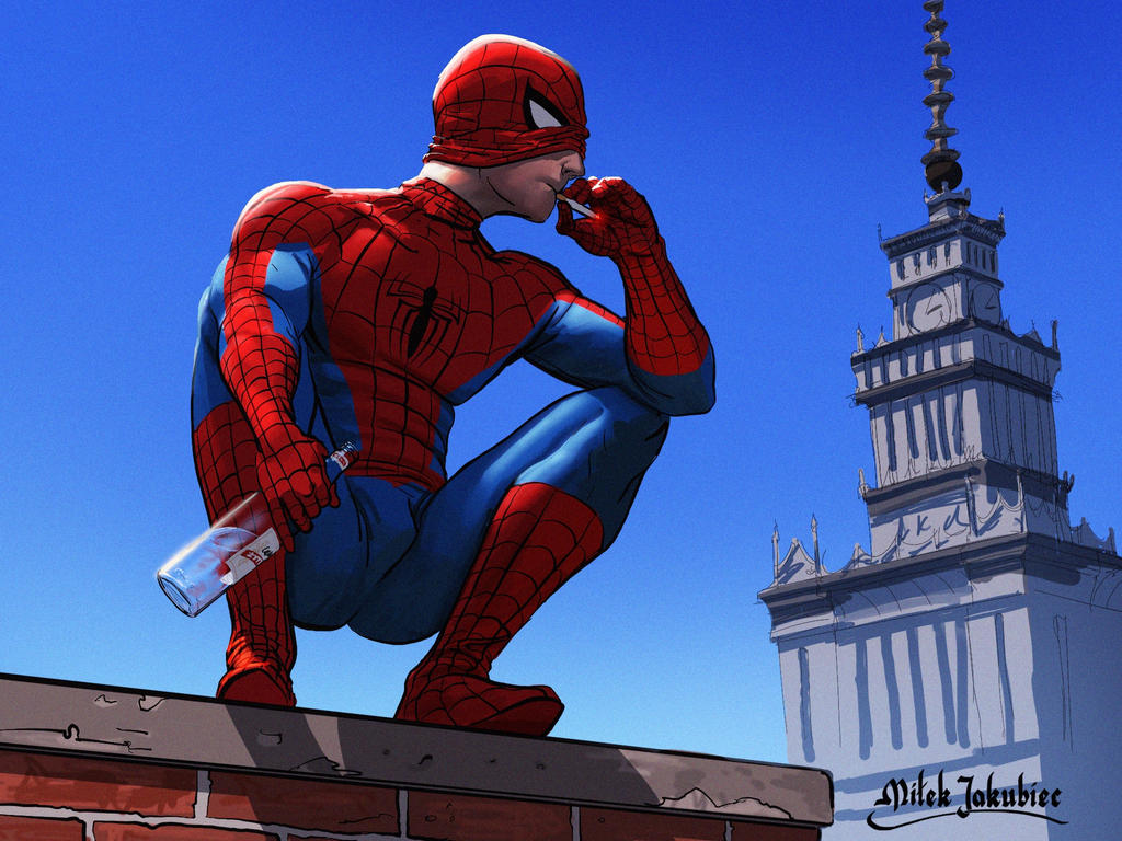 Spider-Man by EthicallyChallenged