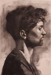 Charcoal Portrait by EthicallyChallenged
