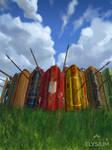 Total War:ELYSIUM - Pavise Infantry
