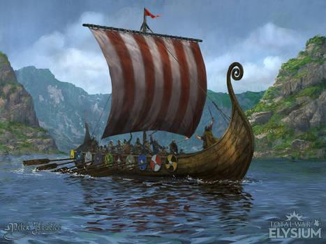 Total War:ELYSIUM - Longship