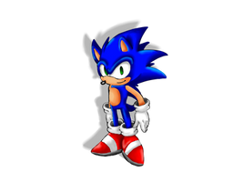 Sonic Old Timer by SpaceStrippers