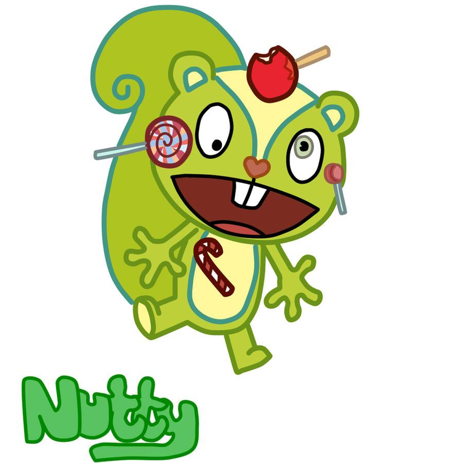 HTF: Nutty by TF2Fan887 on DeviantArt Happy Tree Friends Wallpaper Nutty