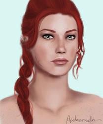 Andromeda Shepard II by AndromedaShepard