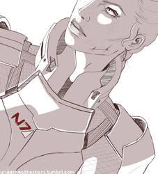 Andromeda Shepard by AndromedaShepard