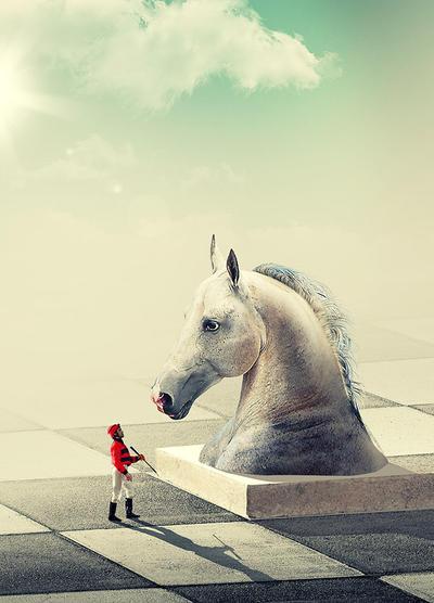 Horse  by sedatgever