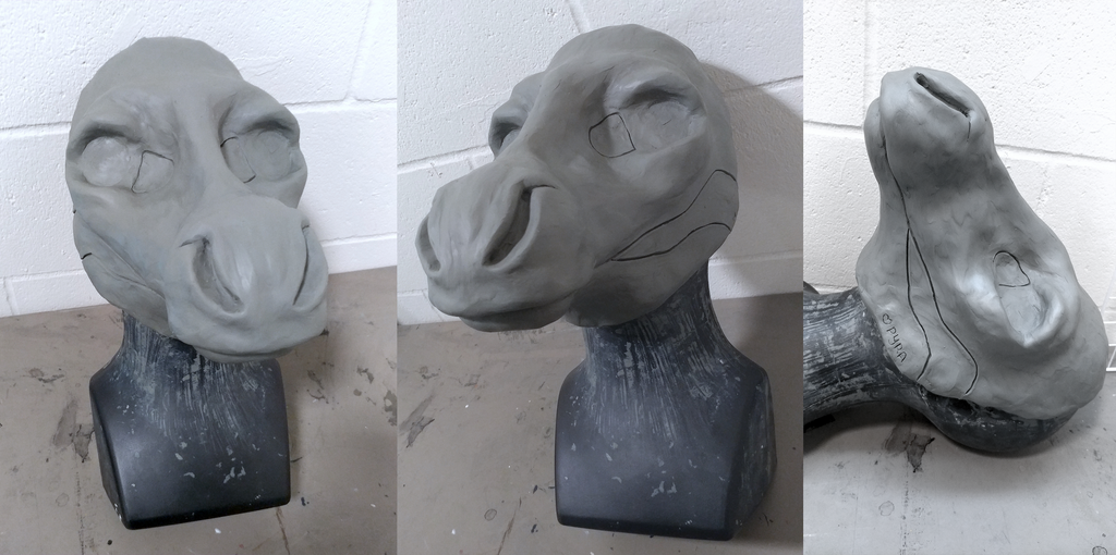 PRE-ORDER: Cervine/Equine Resin Blank by Pyratesque