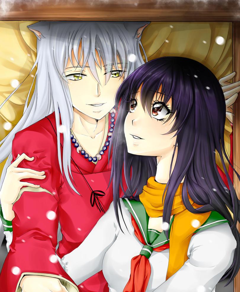 Inuyasha / kagome by KariYuHai