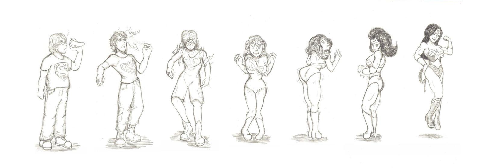 Wonder Woman TG Sequence by FieryJinx