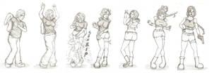 Lara Croft TG Sequence by FieryJinx