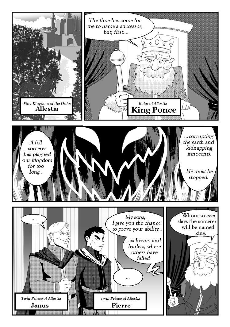 Twin Princes - Page One by FieryJinx
